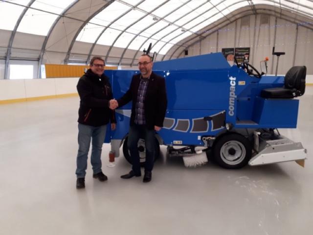 Nowa Rolba na lodowisku Łoś w Łagowie