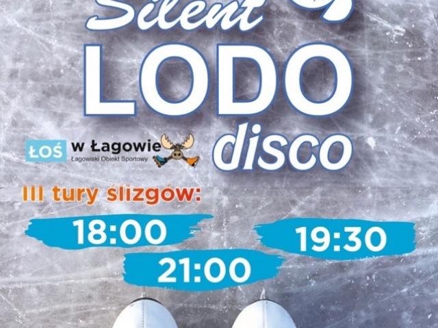 Silent Lodo Disco na lodowisku Łoś w Łagowie
